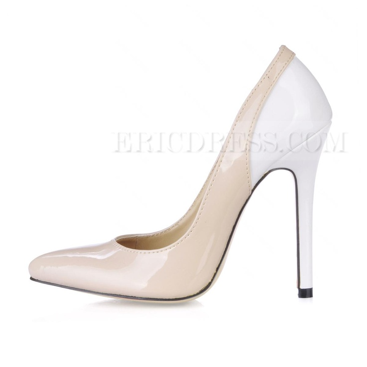 Elegant  Patent Leather Closed-toes Wedding Shoes