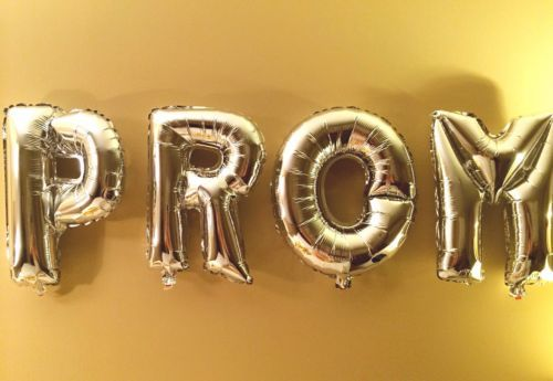 PROM-New-Party-Mylar-Foil-Balloons-Letter-Alphabet-Decoration-Silver