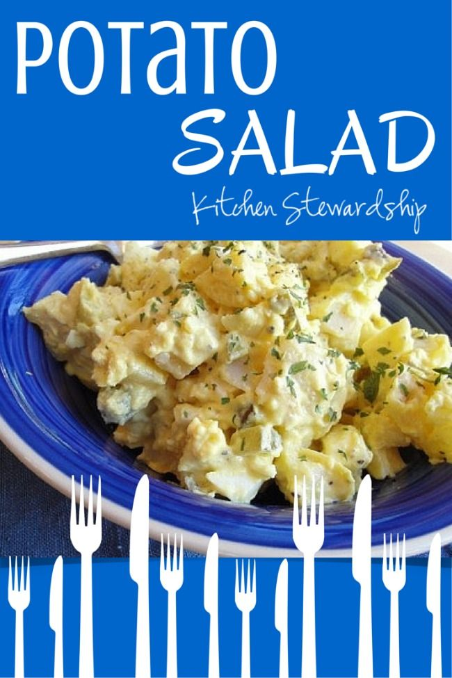 Homemade potato salad is truly the stuff of summer for me – and Christmas family potlucks, for that matter. Family members always insist I bring potato salad! It remains one of my favorite dishes that I could eat for breakfast, lunch, dinner, and even snacks. (It's featured in my Healthy Snacks to Go eBook along with 45 other real food recipes for on the go.)