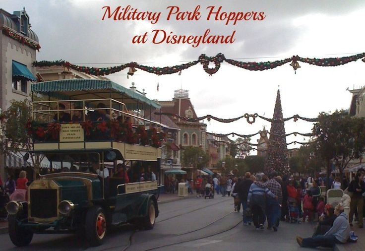 Disneyland military tickets