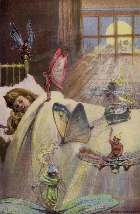 Fairy Folk  The Graphic Story Reader 1890's