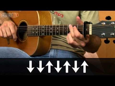 """Video aula de violão com o Leo Eymard do CifraClub com a música """"Esse Cara Sou Eu """" -Roberto Carlos."""