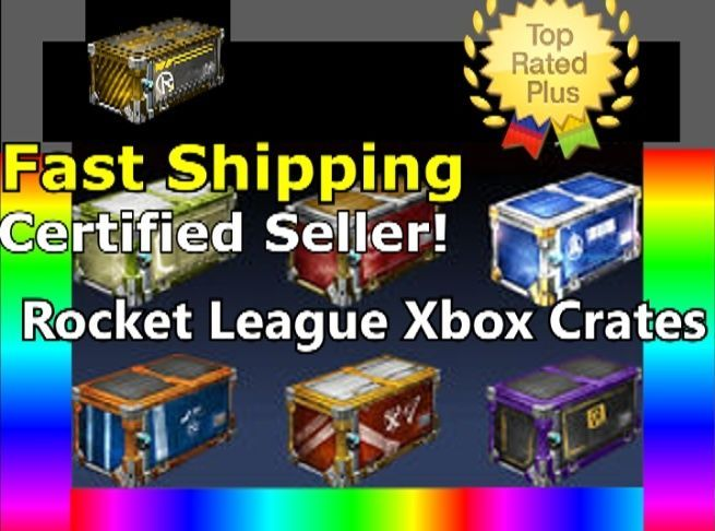 [Xbox One] 5x Nitro Crate, All Crates- SALE, [Rocket League] FAST SHIPPING!
