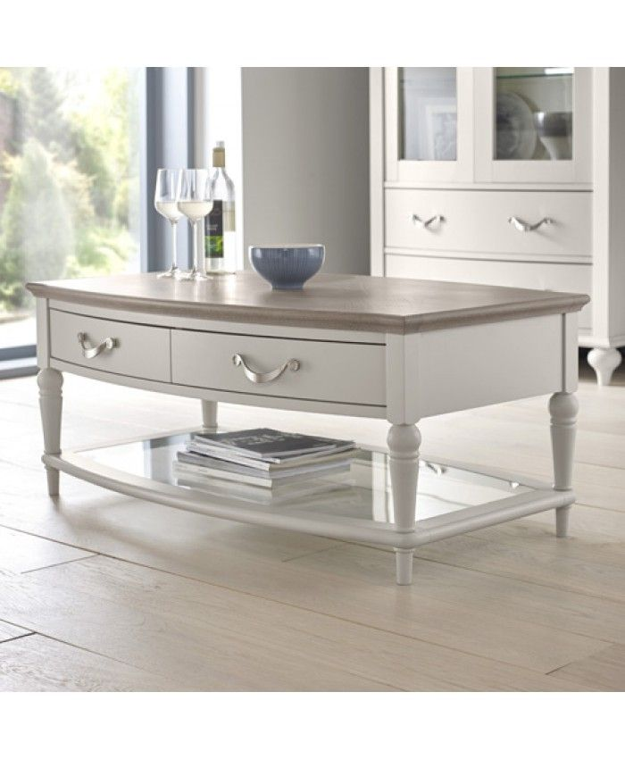 Bentley Designs Montreux coffee table grey Coffee Tables for sale - Ramsdens Home Interiors. View the range of our products currently for sale or contact us today for more information.
