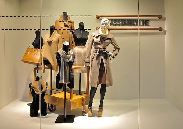 """""""Delivery Autumn/Winter Line"""", at Nordstrom, pinned by Ton van der Veer"""