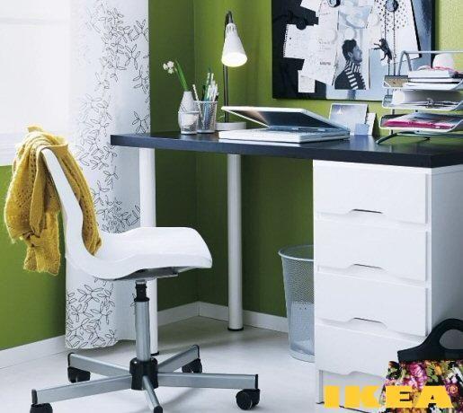 Рабочее место и кабинет от Икеа - Look at Home