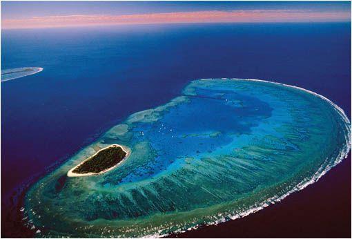 La paradisiaca isla Lady Musgrave, en la Gran Barrera de Coral, Australia | Es la segunda isla de mayor tamaño en la Gran Barrera de Coral, después de la isla Lady Elliot. Está situada al norte de Brisbane y su acceso más sencillo es llegar en barco desde la...