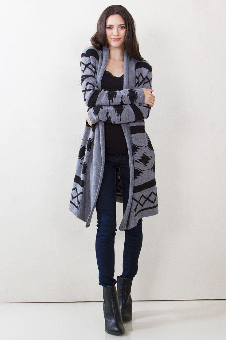 Stunning Aztec Cardigan Sweaters For Women14