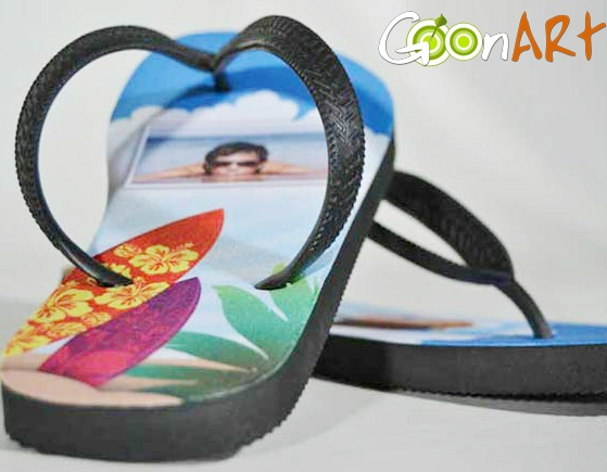 L'accessorio più fashion per la tua estate? I coloratissimi infradito personalizzati di Goonart.it! Divertiti a crearli con le tue foto e le grafiche dei nostri artisti in Post for Sale!