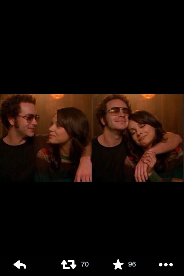 I loved them as a couple! #That70sShow #hyde #jackie