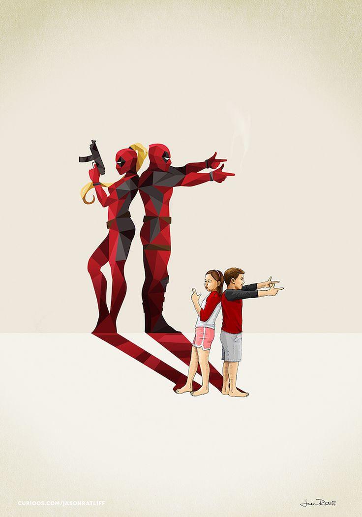 de-nouveaux-dessins-d-enfants-avec-des-ombres-super-hero-par-jason-ratliff-9-deadpool