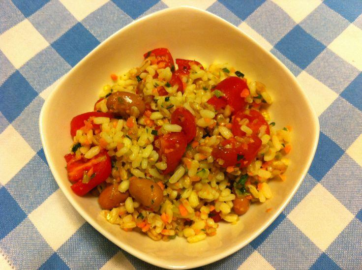 Insalate di riso estive