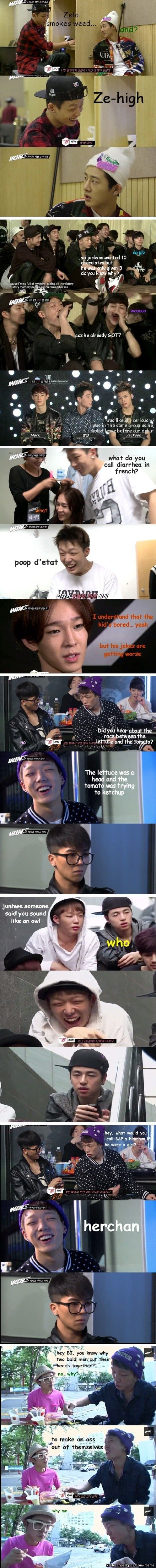 Puahahah Bobby you kill Mr hehehe :') Meme Center | allkpop - Bad Jokes Bobby