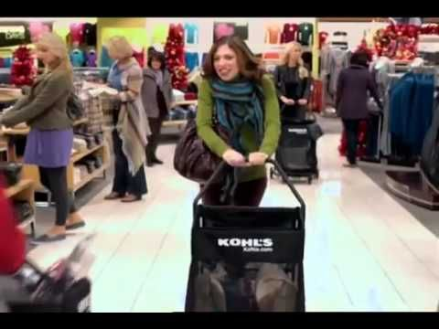 """Kohls Rebecca Black Friday Commercial Kohls used a viral smash hit in Rebecca Black's Youtube sensation """"Friday"""" to promote their specials and opening time on Black Friday a few years ago. The change in the lyrics helps get their message across and is amusing for the consumer."""