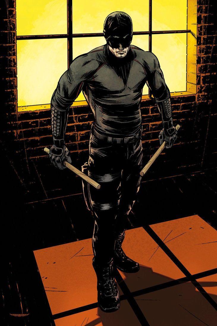 Daredevil concept art from the Marvel Studios original series by Netflix Marvel's Daredevil