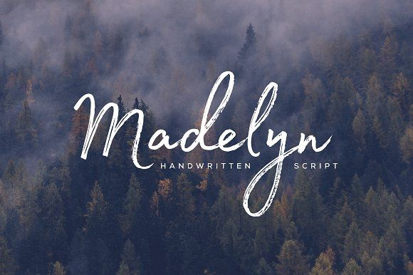 Madelyn Script by Fontfabric on @creativemarket