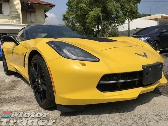 CHEVROLET CORVETTE 6.2 Z5 UNREG MONSTER YELLOW CONVERTIBLE COUPE JPN | Recon Car for sales as advertised on Motor Trader for RM 750,000 in Kuala Lumpur