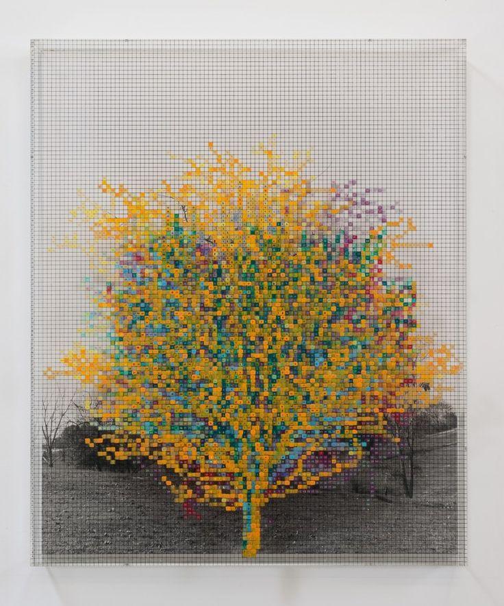 at150226NumberTrees-RobertWedemeyer.jpg Charles Gaines