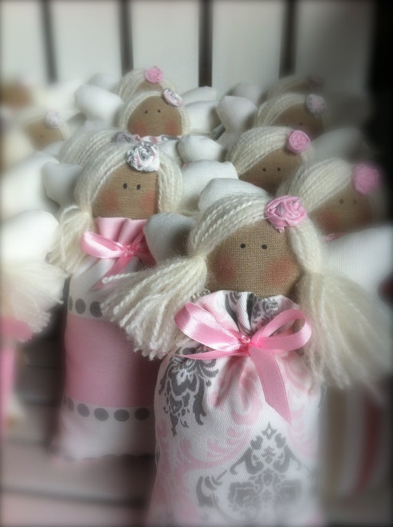 ANGELI BOMBONIERE angel favor by COUNTRYSTELLA on Etsy, $10.00