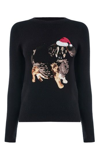 Dachshund Xmas Jumper Oasis Clothes Fashion Clothes Women
