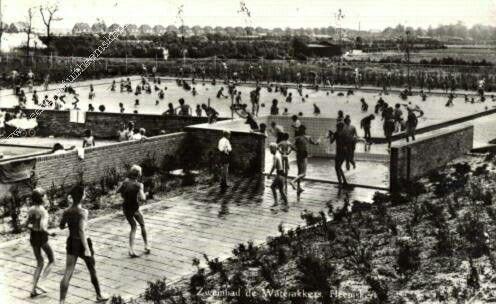 Zwembad de Waterakkers Heemskerk, Noord Holland