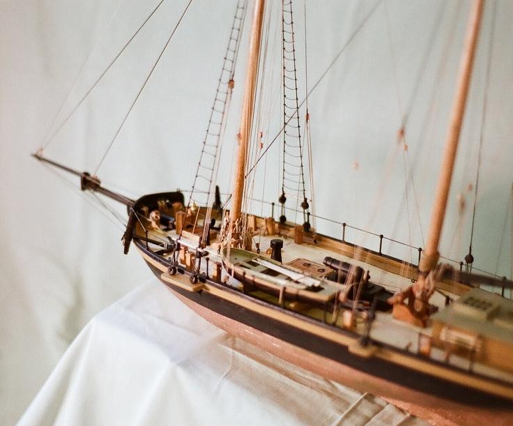 Port Overview Detail of Revenue Topsail Schooner DALLAS c