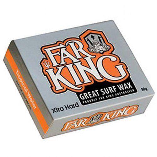 Far King 'Tropical' ('Base Coat') Water Surf Wax x4 by Far King. Far King 'Tropical' ('Base Coat') Water Surf Wax x4.