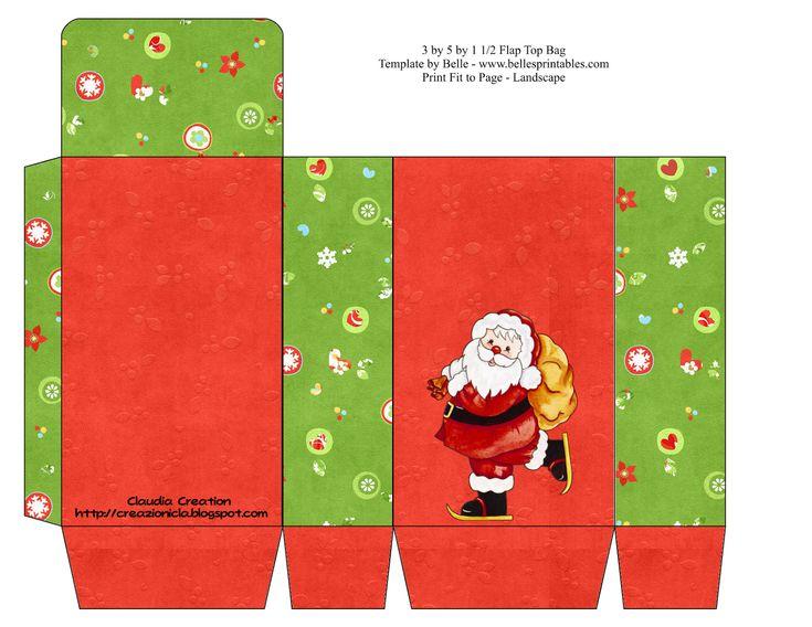 christmas gift box template - photo #28