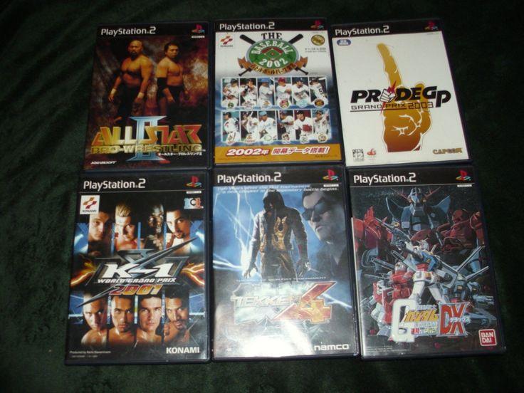🔥 Japanese Playstation 2 - 6 Game Lot NTSC-J / Tekken 4 & Gundam FREE SHIP!🔥: $58.88 End Date: Saturday Mar-31-2018 1:08:02 PDT Buy It Now…