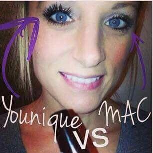 Younique VS Mac