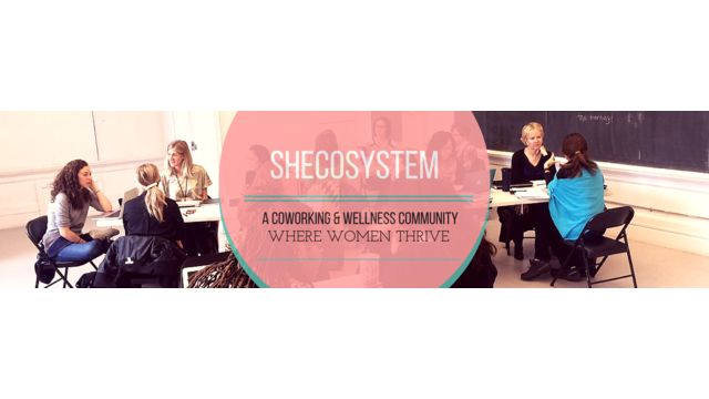 SheCoSystem Toronto is a coworking space and community hub where women can work in integrity, cultivate personal and professional wellbeing and connect with a supportive ecosystem. Together, let's create an environment where working women thrive. Coworking | Self-Care | Community | Wellness Why is it important to integrate wellness into your working life? How is being part of a women's coworking community helpful to your business?