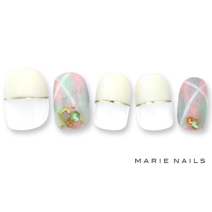 #マリーネイルズ #ネイル #kawaii #kyoto #ジェルネイル #ネイルアート #swag #marienails #ネイルデザイン #naildesigns #trend #nail #toocute #pretty #nails #ファッション #naildesign #ネイルサロン #beautiful #nailart #tokyo #fashion #ootd #nailist #ネイリスト #gelnails #french #ショーネイル #大人ネイル #check