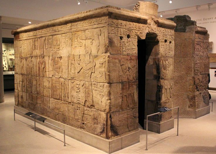 Kawa Temple - King Taharka Shrine - Originally from Kawa, Kush 690-644 BCE. Brought to Oxford in 1936 in hundreds of wooden crates. HIGH RAISED RELIEF- COMPARE TO RELIEFS FROM HAWA'S TOMB AND RELIEFS FROM MONTUHOTEP II, PYRAMID TEMPLE