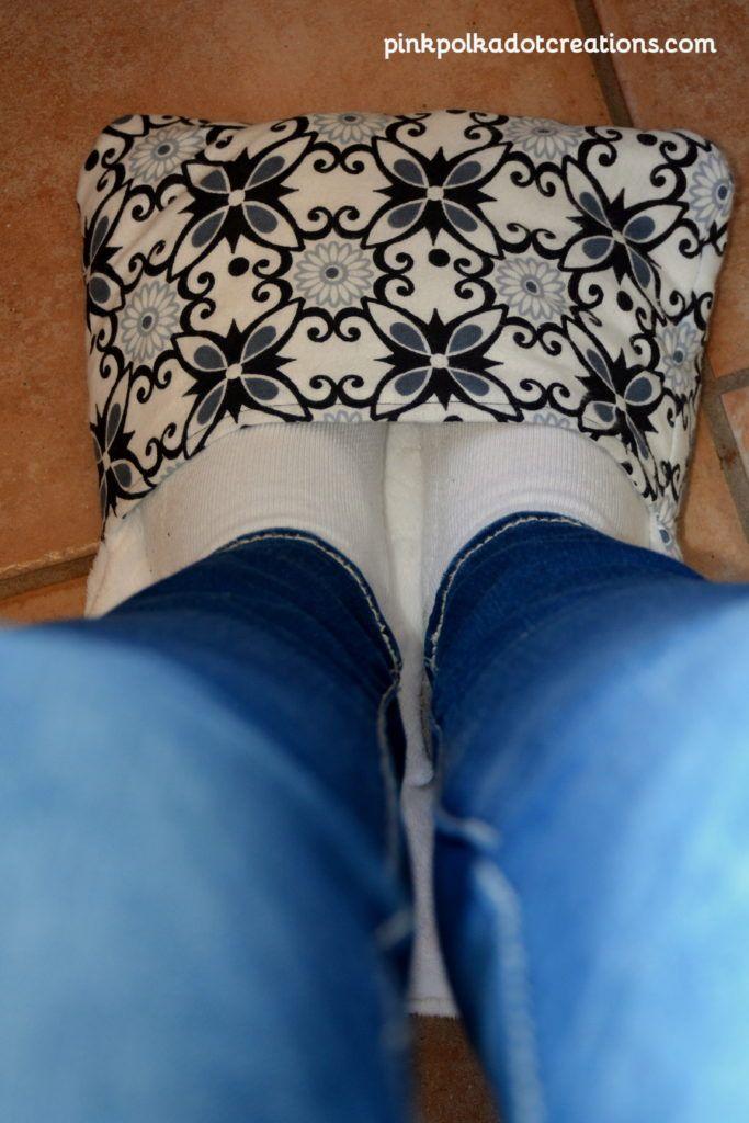rice bag foot warmer