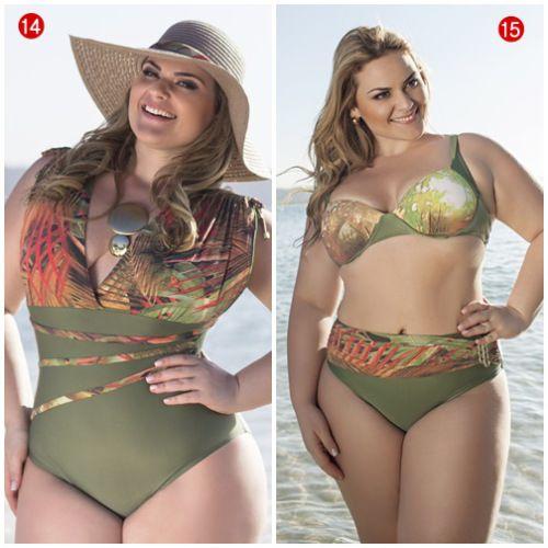 moda praia plus size 6
