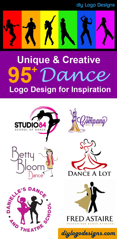95+ creative Dance Logo Design Inspiration ideas. check out full collection at diylogodesigns-com