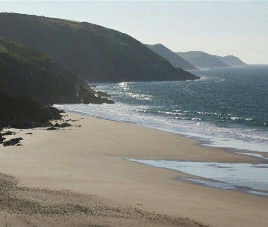 Coastal headlands looking East, from Freshwater East