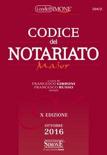 Codice del Notariato Maior