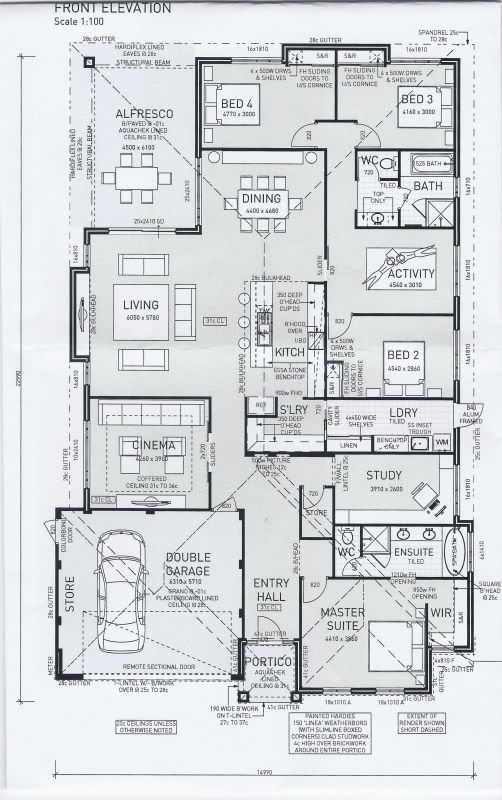 Zoom in real dimensions 502 x 800 houses i luv for Ideal house plan