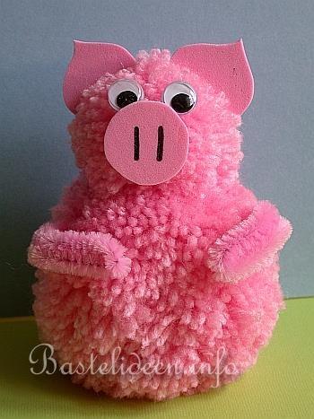 Pompom Schwein