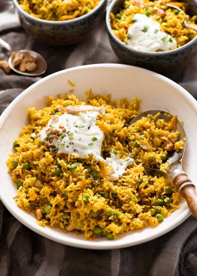 Curried Rice Recipe Indian Rice Recipes Basmati Rice Recipes Indian Food Recipes