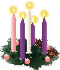 Advent wreath & candles reminds us: ~Prepare our hearts with Hope, Joy and Love as we eagerly look forward to Christmas–the celebration of the birth our Lord and Savior Jesus Christ.