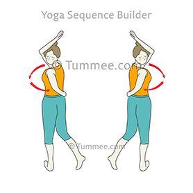 waist rotating pose variation b yoga katichakrasana