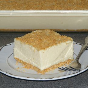 Woolworth's Famous Icebox Cheesecake - no bake, lemon Jello, evap. ma. Mke