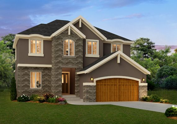 I chose this neo- eclictec home because of the small porch.