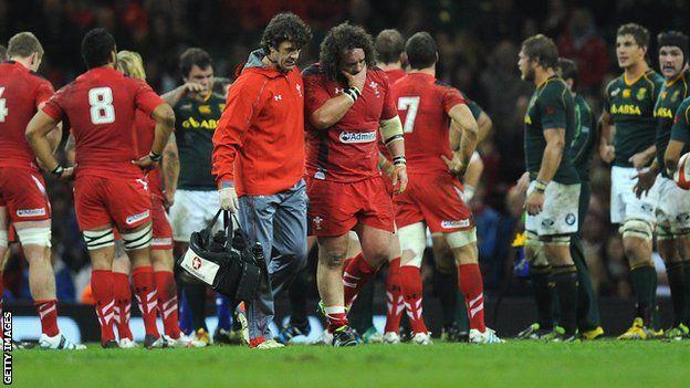 Autumn internationals: Prop Adam Jones ruled out of Wales games