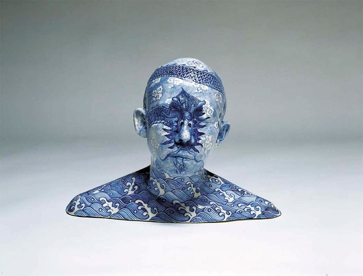 Chinese artist Ah Xian lives and works in Sydney where for nearly two decades he has explored aspects of the human form using ancient Chinese craft methods including porcelain, lacquer, jase, bronze, and even concrete. The artist often uses busts of his own family members including his wife, brother