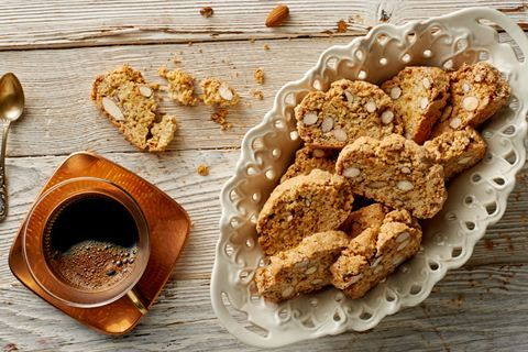 Włoskie ciasteczka Cantuccini