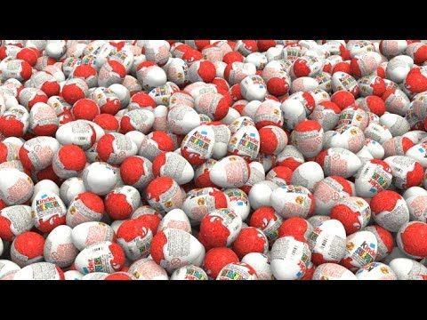 1000 Kinder Surprise Eggs!!! For Children - Learn Colors and Special Cars for Kids - YouTube