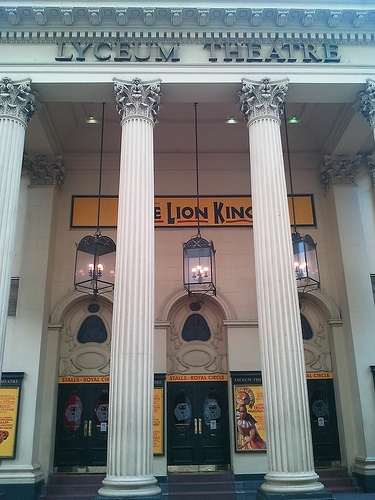 "Lyceum Theatre London in the West End-actually saw ""Lion King"" there! Fantastic!-MFB"
